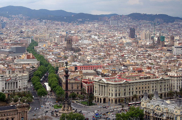 Barcelona, Then and Now - A Visual History Guide