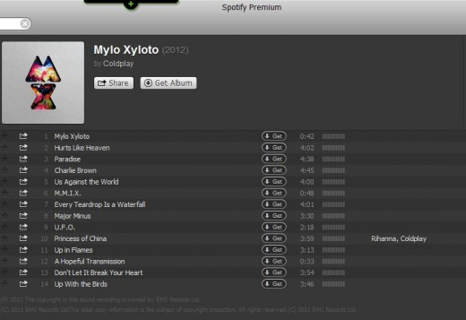 CPLAY 520x357 Coldplay buckles and finally launches Mylo Xyloto on Spotify