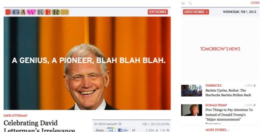 Gawker — Today s gossip is tomorrow s news 520x265 Remember that Gawker redesign? A years worth of data says it worked