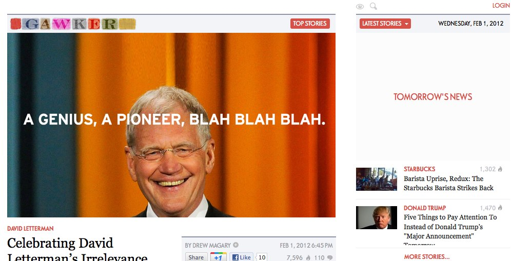 Gawker's Redesign Worked According to the Numbers