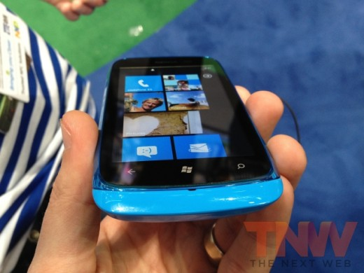 IMG 1787wtmk 520x390 Hands on with Nokias Lumia 610, its cheapest Windows Phone yet [Photos]