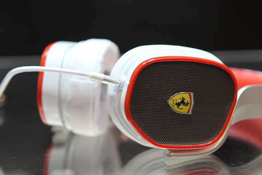 Logic3's Ferrari headphones are a sexy bit of speed for your ears