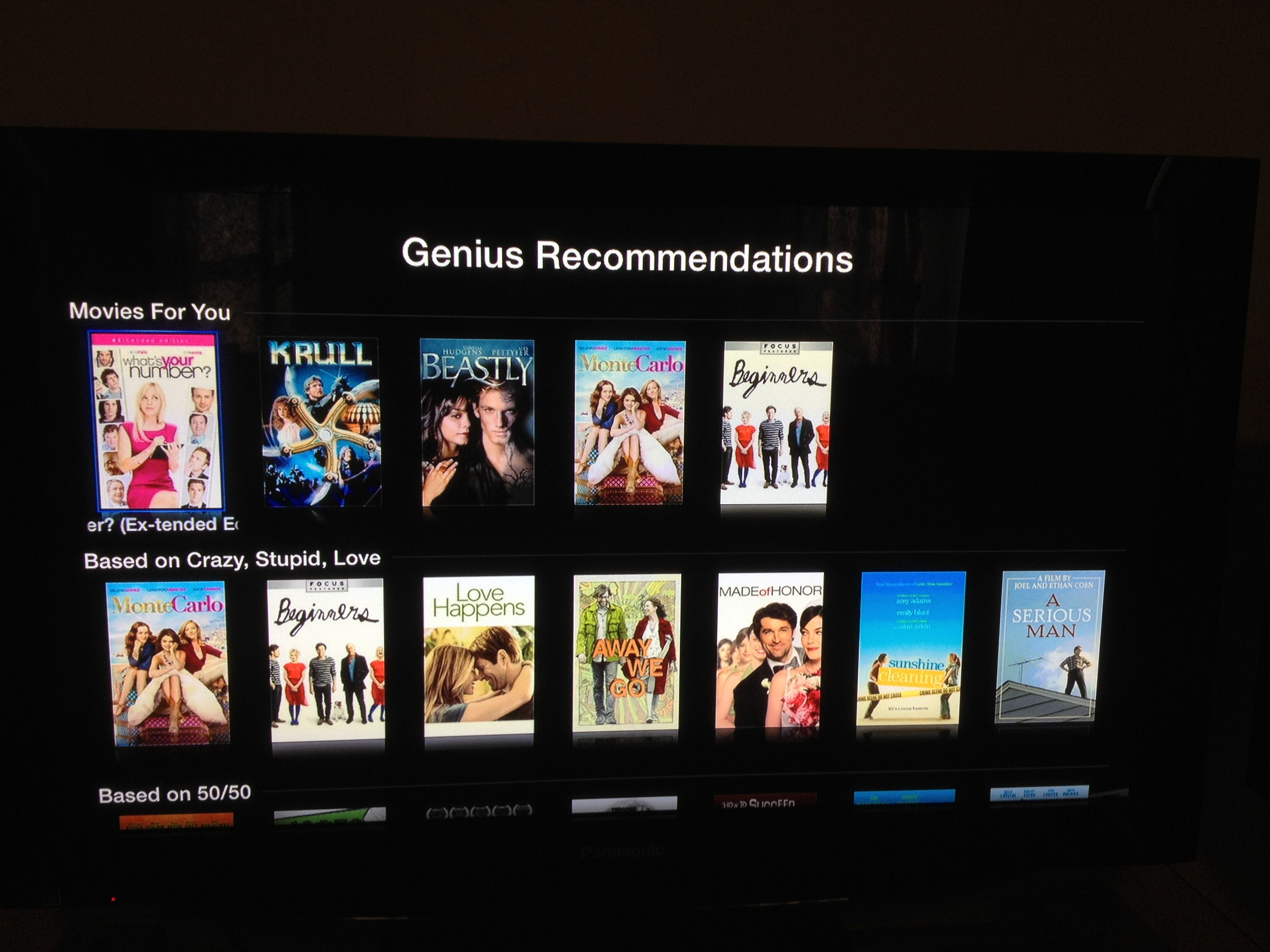 Apple brings Netflix-like discovery to Apple TV with Genius suggestions for movies and TV shows