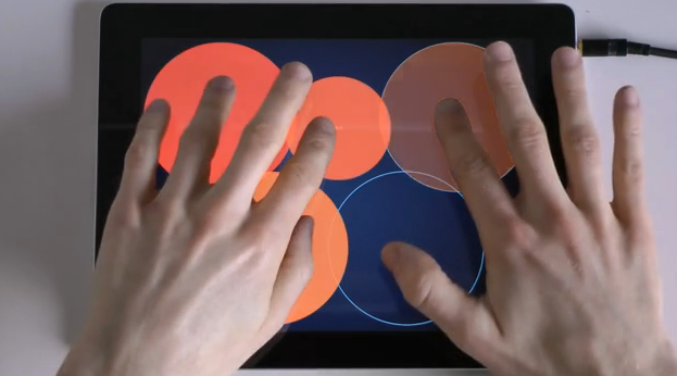 Play expressive, wonderful sounds and melodies on your iPad with Orphion