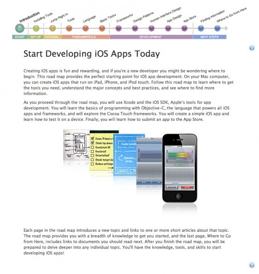 Screen Shot 2012 02 17 at 11.37.56 AM 520x551 Apple posts gorgeous new how to get started as an iOS developer guide