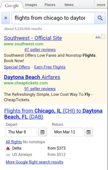 Screen Shot 2012 02 21 at 3.37.22 PM Google tweaks Flight Search on mobile, making it easier to customize your trips
