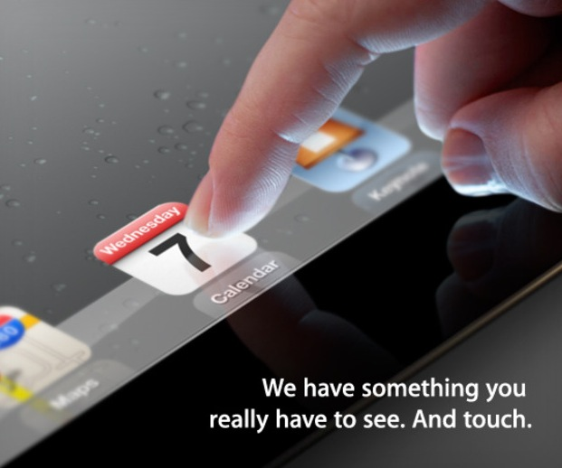 Apple announces iPad 3 event for March 7 in San Francisco