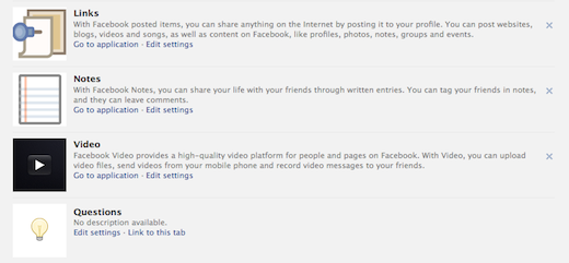 Screen shot 2012 02 29 at 4.28.32 PM New Facebook timeline for brand pages loses landing tabs, gets a new admin panel