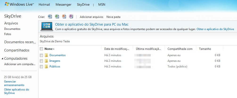 Evidence of SkyDrive for Windows and Mac, Extended Plans