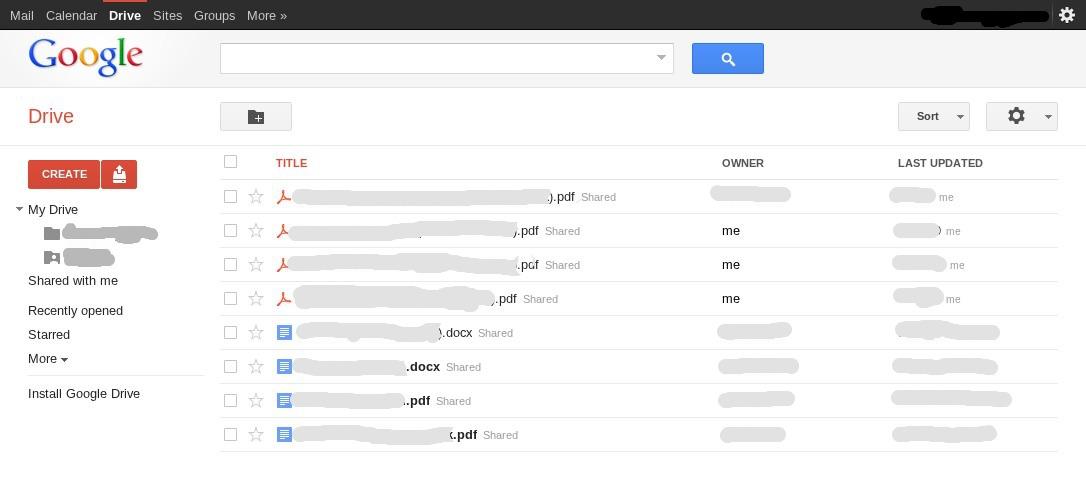 Google Drive Screenshot And Logo Make An Appearance