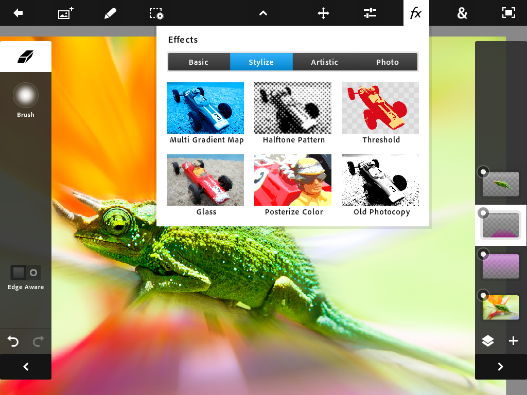Adobe drops Photoshop Touch for iPad 2, with layers, lighting and more for $9.99