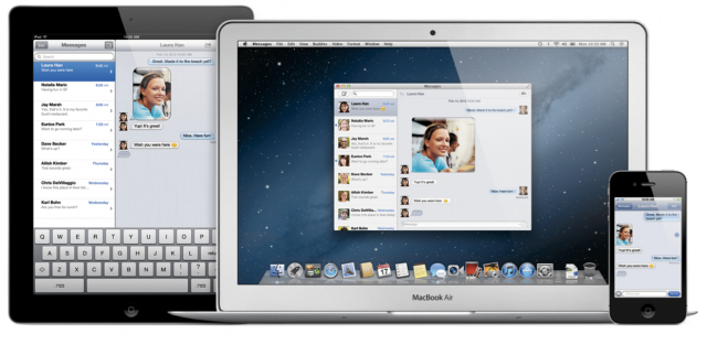 iMessage comes to the desktop in Apple's OS X Mountain Lion, and you can get it now