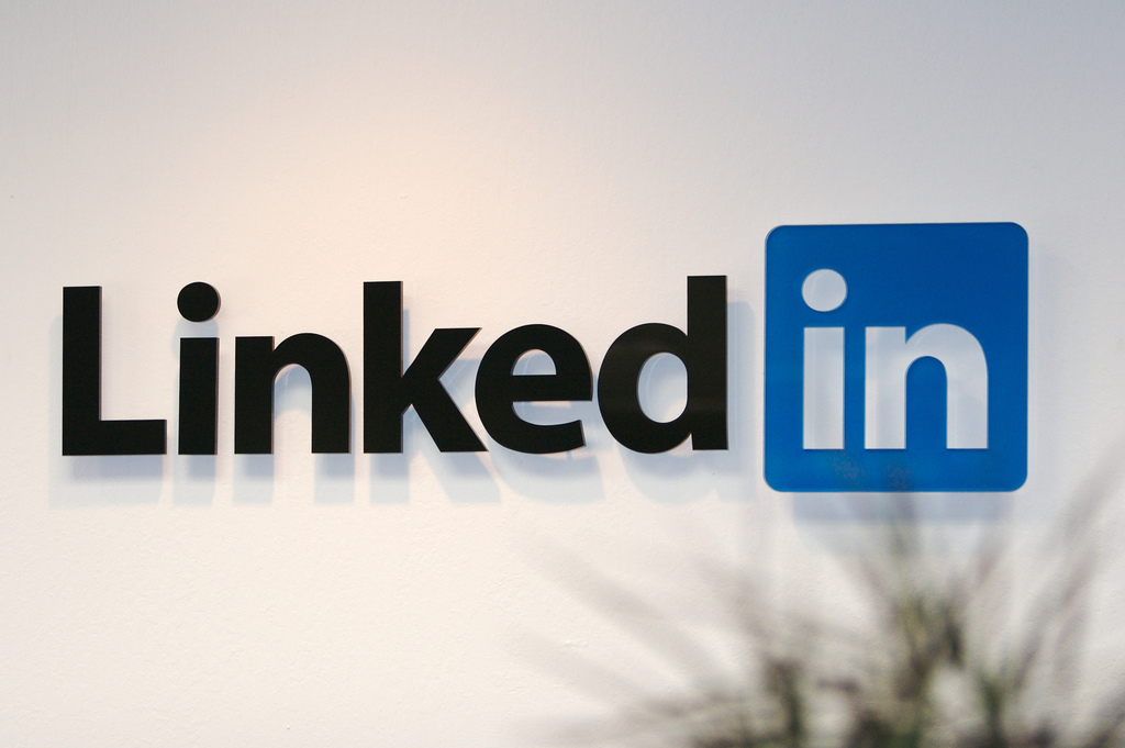 43% of all LinkedIn users are in the US, IBM is the company with the most followers