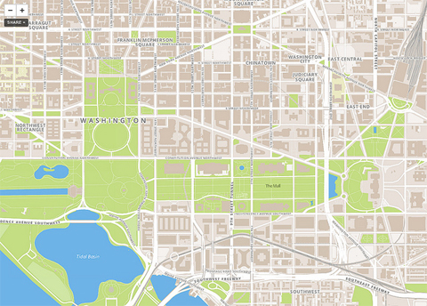 mapbox Foursquare.com ditches Google Maps for MapBox and OpenStreetMaps