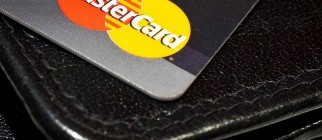 MasterCard credit card by Halkan Dahlstrom