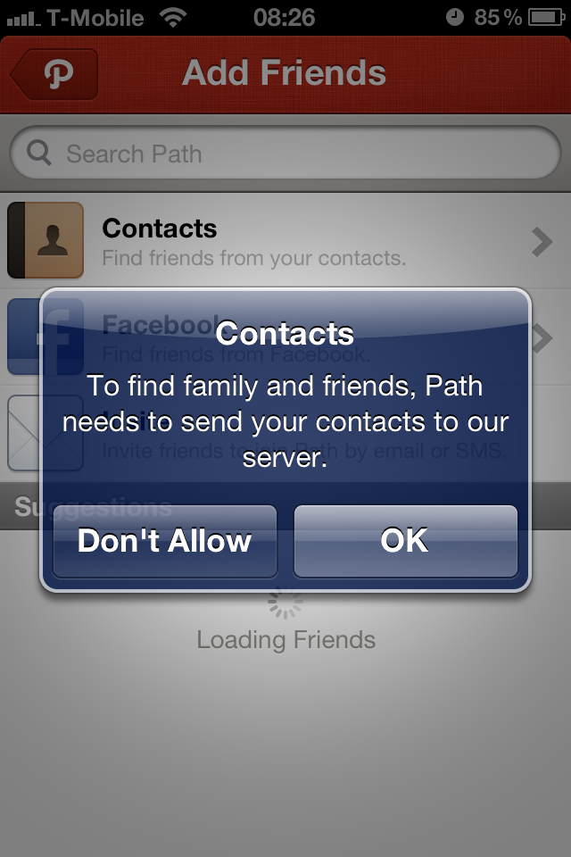 Instagram Now Prompts You to Share Contacts