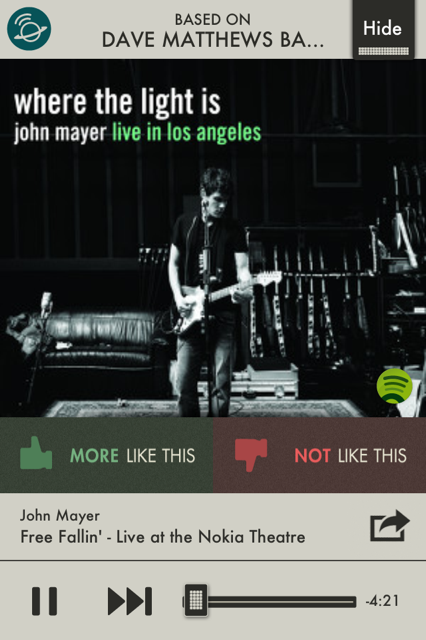 photo 31 SpotON Radio for iOS turns Spotify tracks into Pandora esque radio stations