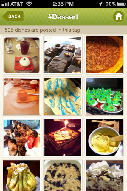 photo 311 DishPal uses hashtags and group sharing brilliantly to put tasty food on display