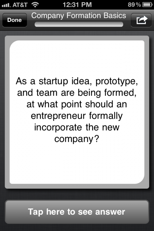 photo 32 520x780 This app teaches you about startup culture and business using mobile flash cards