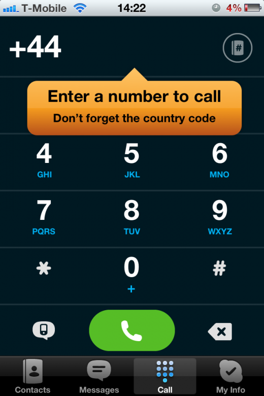 photo 33 520x780 Skype for iOS updated to deliver improved dialpad and chat UI, iOS 5 stability
