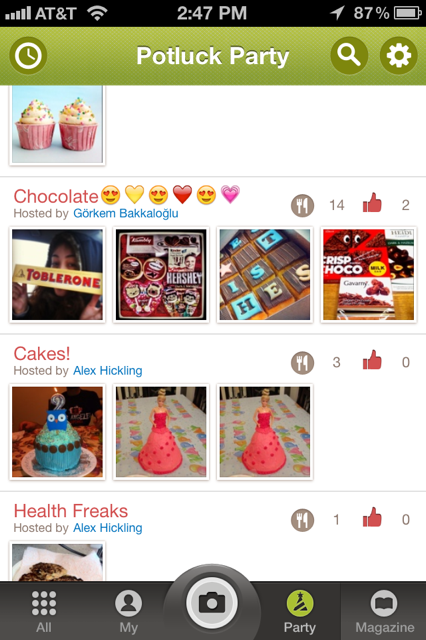 photo7 DishPal uses hashtags and group sharing brilliantly to put tasty food on display