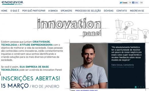 screenshot 2012 02 15 à 17.34.18 520x317 Endeavor introduces Innovation Panel to promote entrepreneurship