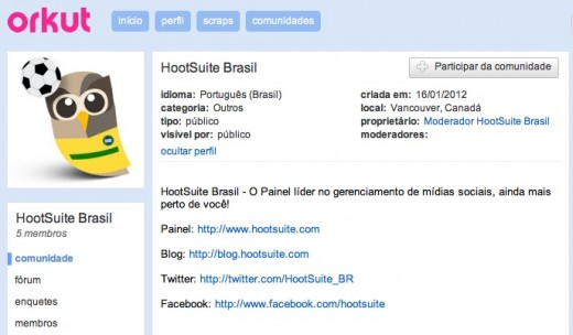 screenshot 2012 02 28 à 03.43.42 520x304 Social media dashboard HootSuite is courting Brazil with translated version