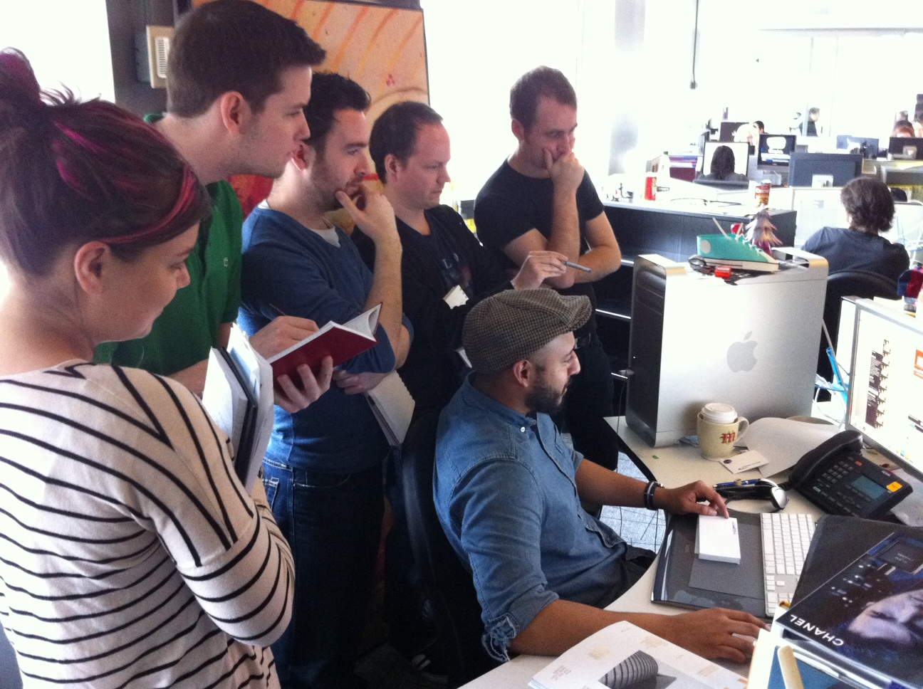 Tumblr Tuesday: Hovering Art Directors caught on camera (mostly males in NYC)