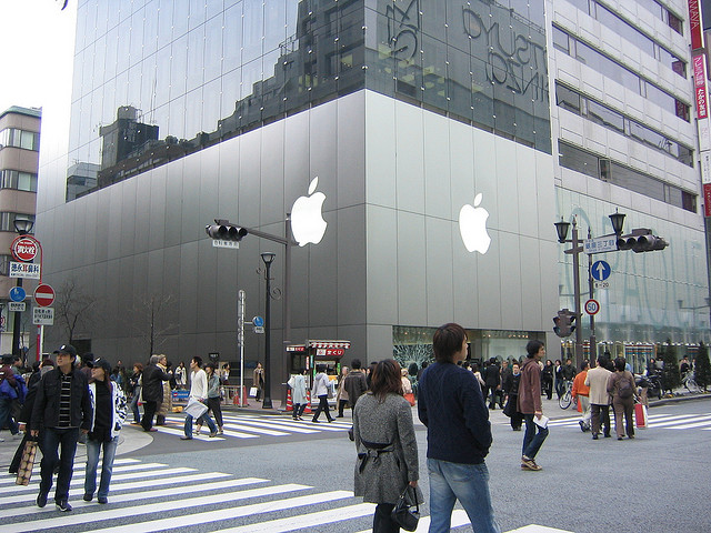 Apple named Japan's top consumer brand for the first time