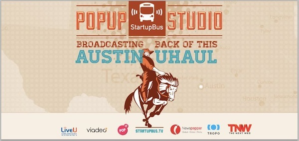 Watch Live: StartupBus arrival show in Texas