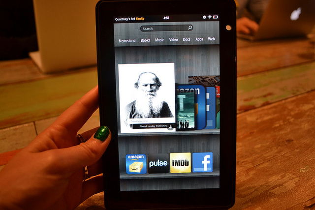 Amazon tipped to launch three new Kindle tablets in 2012