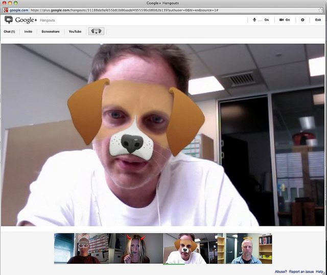 This Chrome extension for Google+ Hangouts makes it more accessible to the blind