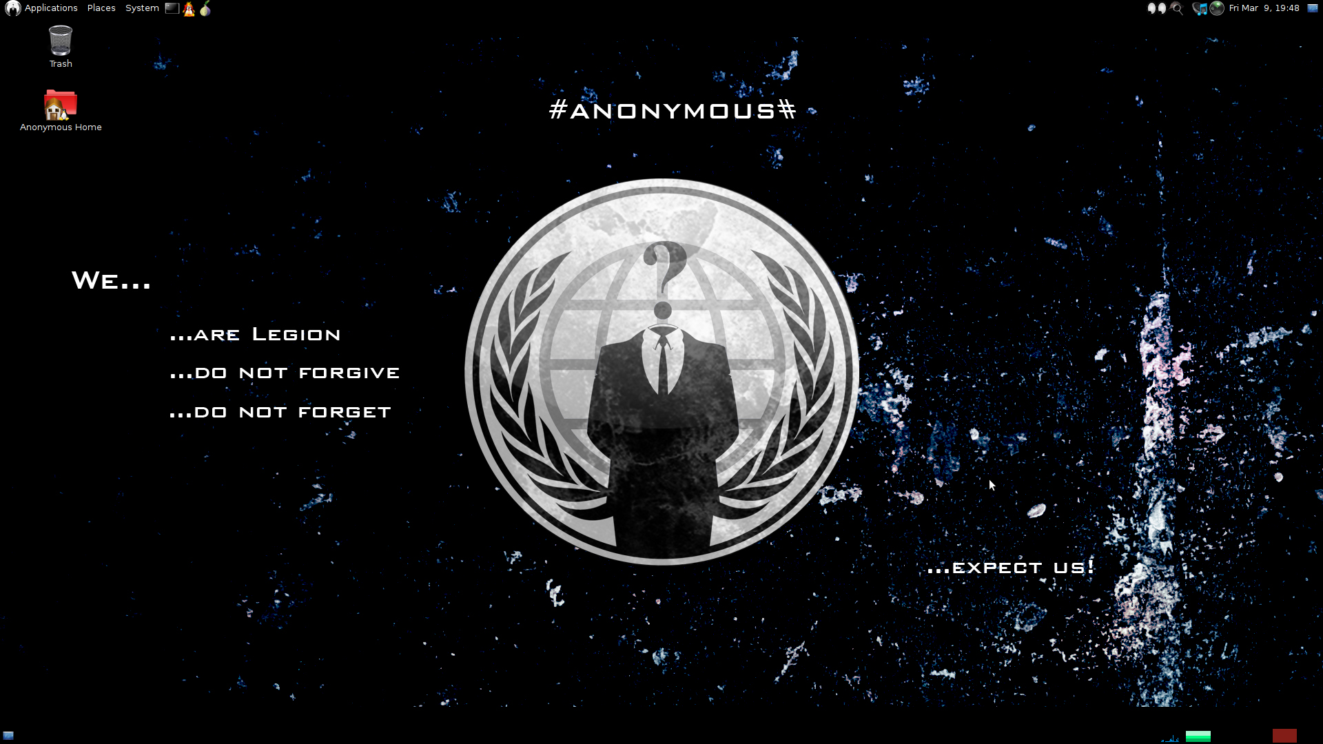 Anonymous has just released its own operating system: Anonymous-OS