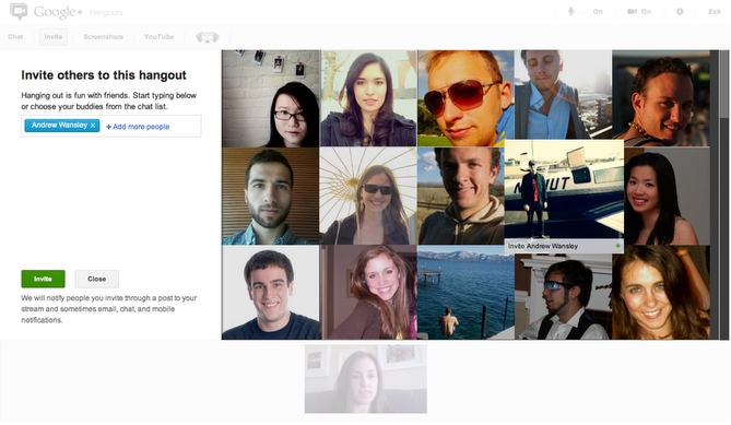 It's Now Easier to Invite Friends to Google+ Hangouts