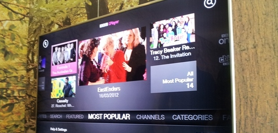 BBC iPlayer launches on Xbox, integrating voice and gesture control features for the first time