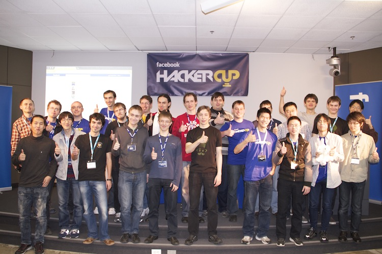 Roman Andreev from Russia wins Facebook Hacker Cup by only one minute