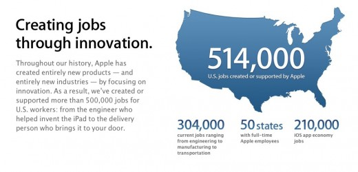 Screen Shot 2012 03 02 at 11.08.37 AM 520x250 Apple responds to criticism about manufacturing overseas with claim of 514K jobs created in U.S.