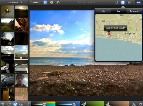 iPhoto on iOS does not use Google Maps, may indicate new Apple maps product coming [Updated]