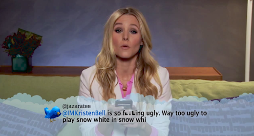 Watch as celebrities read their meanest @replies from Twitter [Video]
