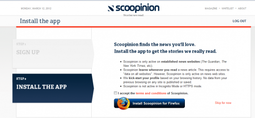 Screenshot 14 520x242 Scoopinion: A crowdcurated magazine for your browser that learns what you like [Invites]