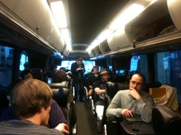 Watch live now: StartupBus finals and various mayhem from SXSW