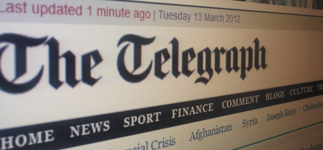 The Daily Telegraph announces native Android and iPhone apps
