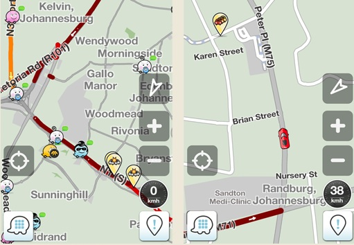 Waze Community powered road navigation app Waze launches in South Africa