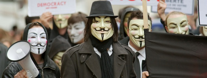Anonymous reportedly behind attack on Tunisian Islamist sites