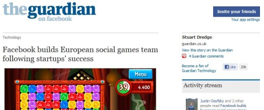 attachment 520x218 The Guardian's Facebook app hits 3.9 million active users