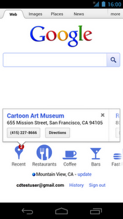 cartoon art museum Google continues to unify desktop and mobile search experiences with new local search