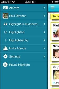 highlight3 Just in time for SXSW, hot location based networking app Highlight gets even more useful