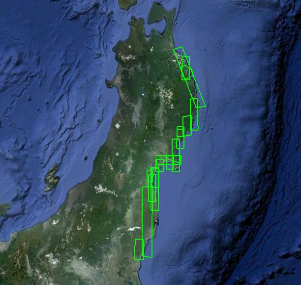 Google Maps Adds New Satellite Imagery Of Japan - Japan map satellite