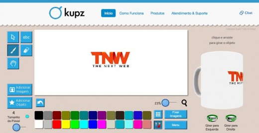 kupz tnw1 520x267 Brazils Kupz makes it easy for anyone to create custom mugs