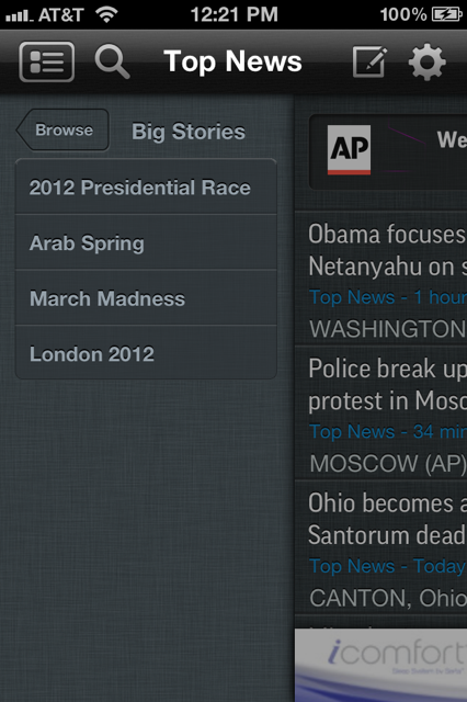 photo 210 AP launches completely redesigned version of its app with Big Stories for iOS